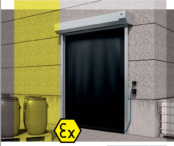 ATEX Doors | Dynaco S-545 High Speed Door – Exterior