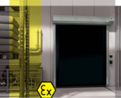 ATEX Doors | Dynaco S-535 High Speed Door – Interior