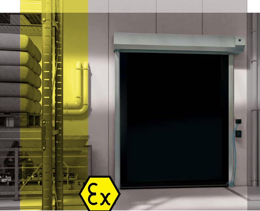 ATEX Doors - Interior High Speed Roll-up Door