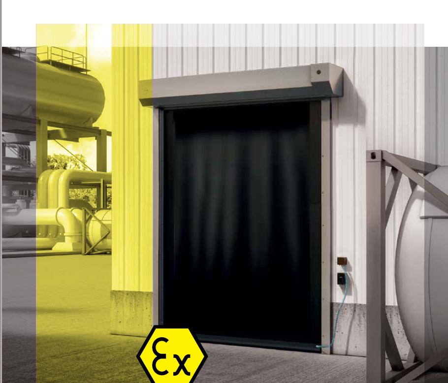 ATEX Doors - Wind Resistant High Speed Roll-up Door