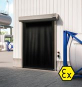 ATEX Doors | Dynaco S-549 High Speed Door – Exterior