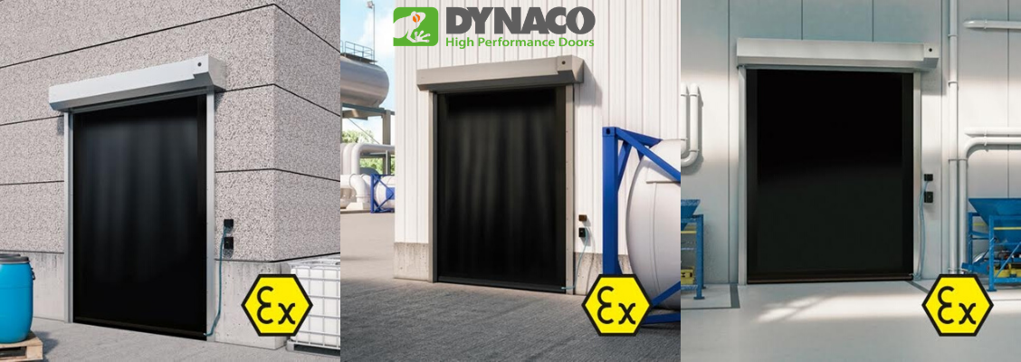 ATEX Doors - High Speed Roll-up Doors