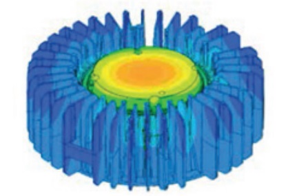 Appleton Mercmaster LED Generation 3 Thermal Simulation