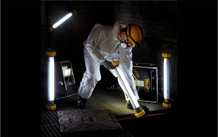 Wolf LinkEx Temporary Portable Lighting for Confined Spaces with Hazardous Areas Explosive Atmospheres