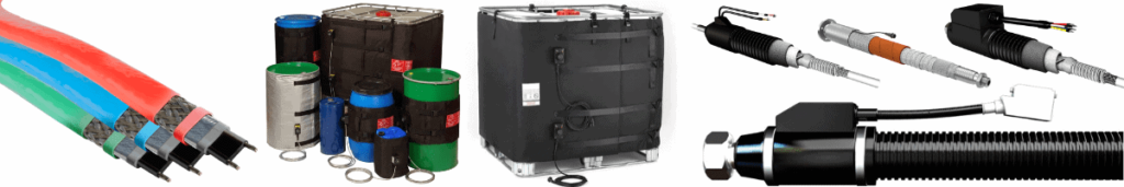 Heat Trace Cables | Drum Heaters | IBC Container Heaters | Heated Hoses