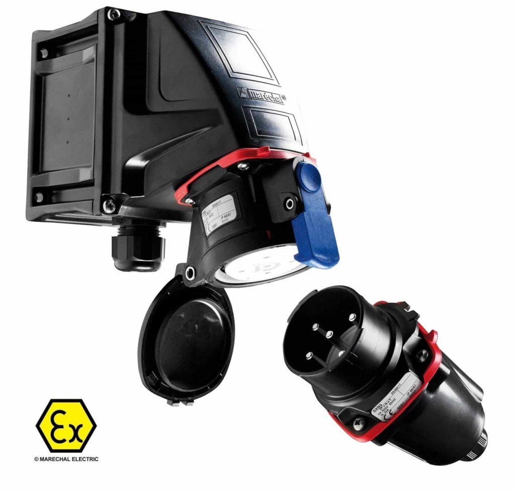 ATEX IECEX Plugs Marechal DXN Hazardous Areas