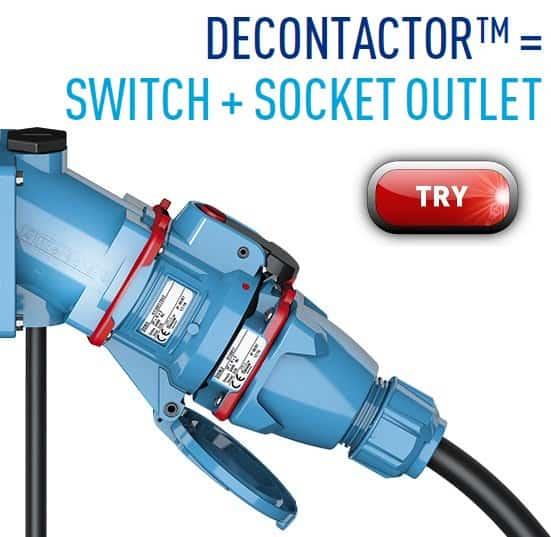 ATEX Plugs Sockets Decontactors