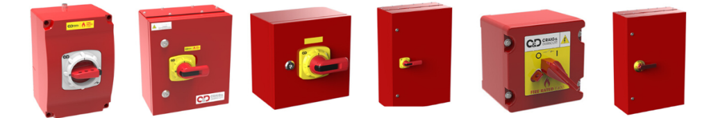 Fire Rated Isolators