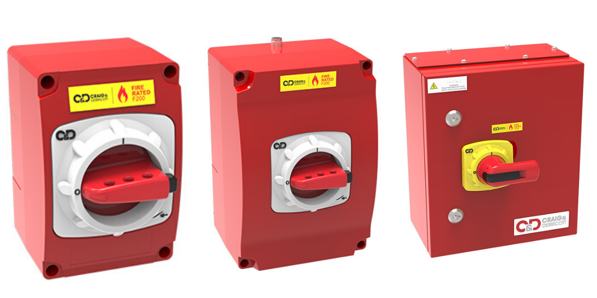 Fire Rated Isolators | F200 Fire Resistant Switch Disconnectors