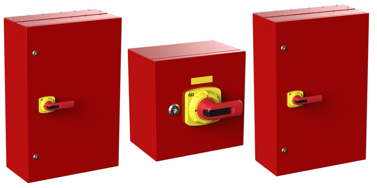 Fire Rated Isolators | F300 Fire Resistant Switch Disconnectors
