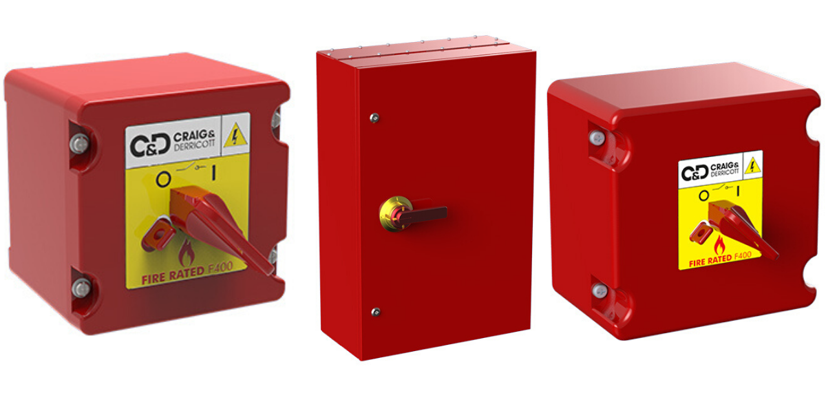 Fire Rated Isolators | F400 Fire Resistant Switch Disconnectors