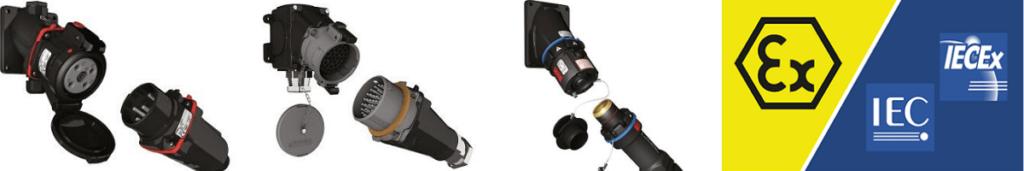 Plugs Sockets ATEX IECEx Hazardous Area Explosion Proof