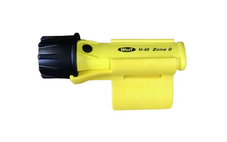 Blastlite is easily, quickly & securely attached to the nozzle or hogger