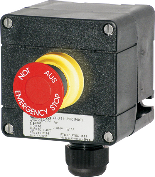 Control Stations | ATEX IECEx | Manufactured by CEAG