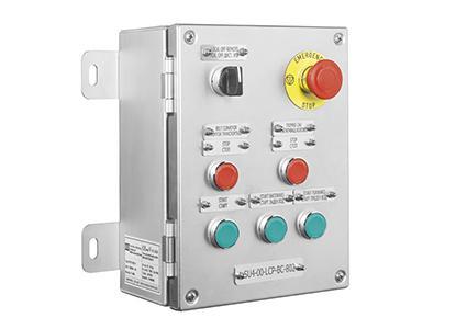 Stainless Steel Control Stations | ATEX IECEX Hazardous Area Zone 1 & Zone 2