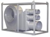 ATEX Fans | Zone 1 Hazardous Area Portable Tank Ventilation Fan | Tank Vent Fan 800 With 6 Outlets